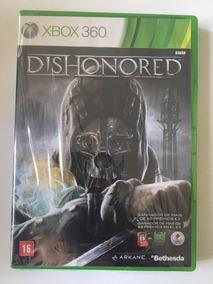 Dishonored - Jogo Para O Xbox 360 Original - Midia Fisica