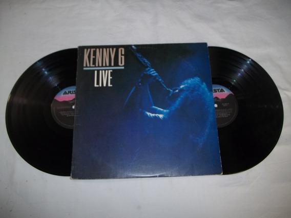 Vinil Lp - Kenny G Live - 2 Discos