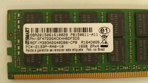 Imagem 1 de 4 de Memória 16 Gb 2rx4 Pc4-2133p-ra0-10 Memoria Ram Hp752369-281