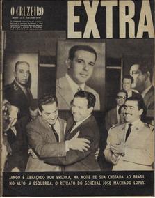 1961 Revista O Cruzeiro Ano 33 Nº 49 Extra Capa Jânio Crise