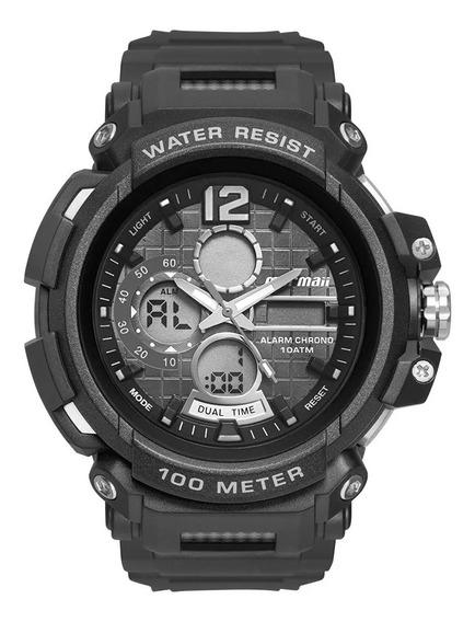Relógio Masculino Mormaii Esportivo Moad1101ab/8p