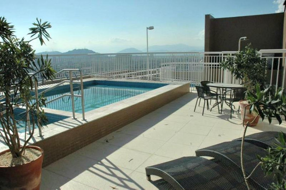 Apartamento 2 Dormitórios Varanda Gourmet - Lazer Santos/sp - Ap0539