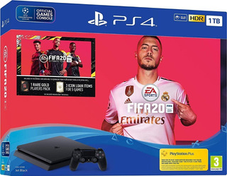 Playstation 4 Ps4 1 Tb Slim + Fifa 2020 - Otec