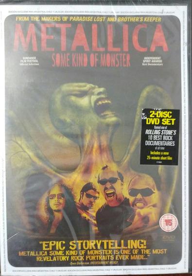 Metallica Some Kind Of Monster 2 Dvd Nuevo Sellado