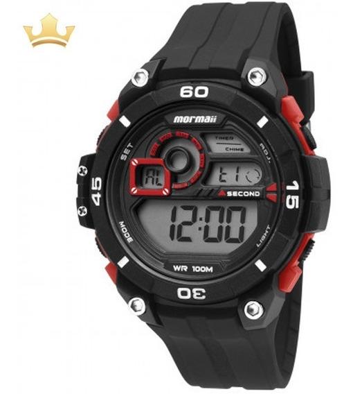 Relógio Mormaii Unissex Mo2019/8r Com Nf