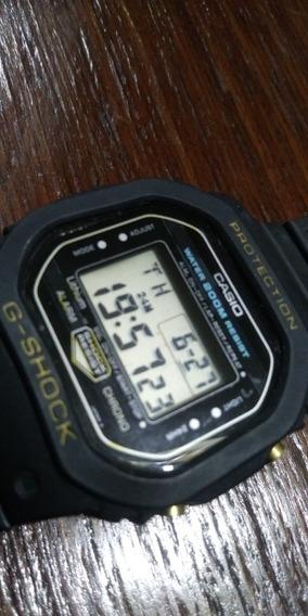 Casio G Shock Dw 5200 Série Ouro Sem Erros Cronômetro Bonito