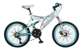 Bicicleta Benotto Rush Rodada 20 Doble Suspensión