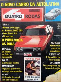 Revista 4 Rodas Nº 337 Agosto 1988
