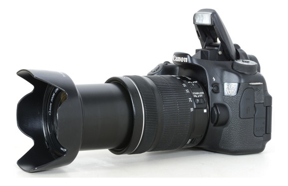 Canon 70d + 18-135mm + Brindes !! 072024018090