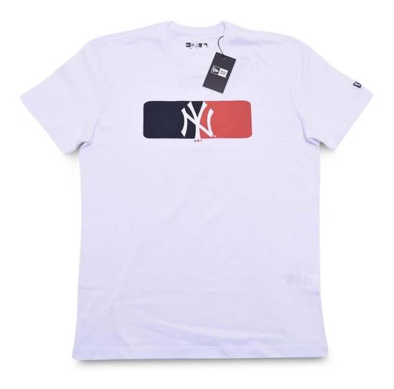 Camiseta New York Yankees Essentials Box Mlb New Era