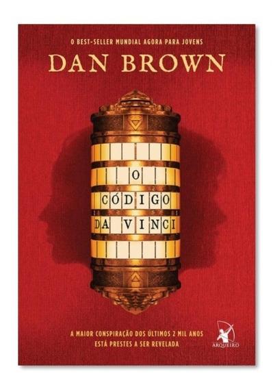 Livro O Código Da Vinci Edição Para Jovens - Dan Brown