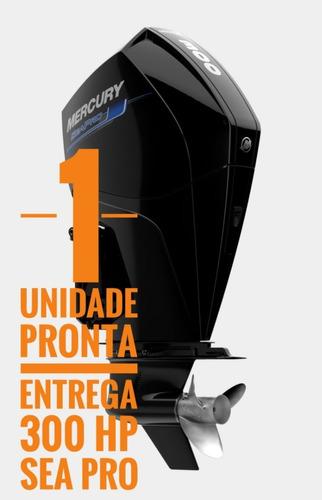 Motor De Popa 300 Hp Mercury  Sea Pro- Pronta Entrega .