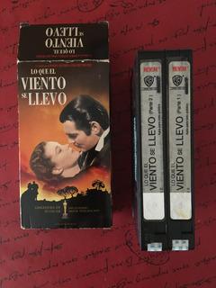 Lo Que El Viento Se Llevó Vhs 2 Casettes De Colección