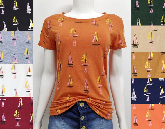 C/15 T-shirts Blusas Feminina Roupa Atacado Revenda Camiseta