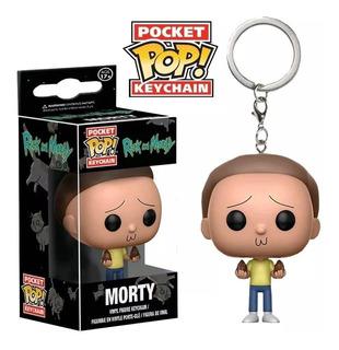 Chaveiro Pop Funko Keychain Morty - Rick And Morty