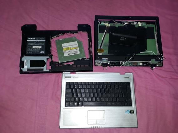 Notebook Hbuster 1401/110 Carcaça Completa, Usado.