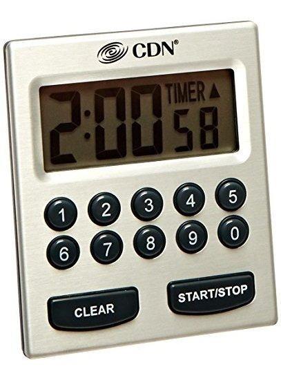 Cdn Tm30 Direct Entry 2alarm Timer Sonidos De Alarma O Vibra