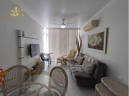 Imagem 1 de 11 de Apartamento À Venda Na Praia Das Pitangueiras, 1 Dormitórios, 1 Vaga. - Ap1088