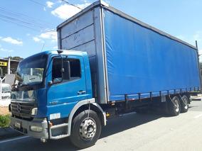 Mb 1418 2006 Truck Baú Sider Alongado 10,50m!