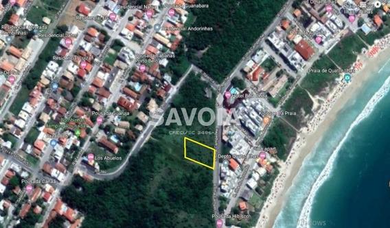 Terreno Com 686,28 M² Ótima Localização Em Quatro Ilhas, Bombinhas - 2204