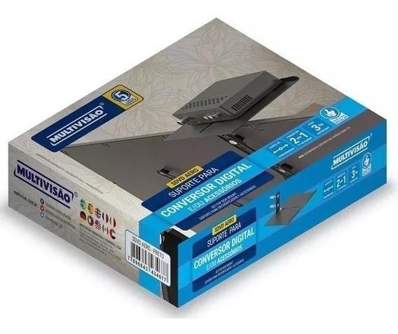 Suporte Para Receptor Conversor Sdvd Aero Multivisao Novo