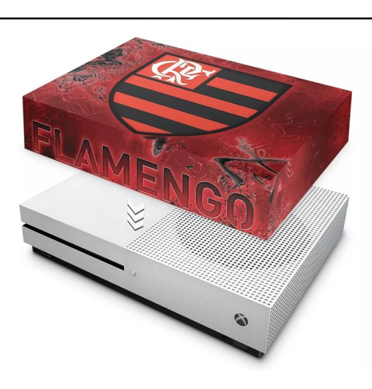 Capa Anti Poeira Flamengo Xbox One S Slim