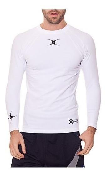 Remera Manga Larga Gilbert Camiseta Termica Rugby Futbol