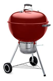 Weber Asador De Carbón Original Kettle Premium 22 Pulgadas Crimson Rojo - 14403001