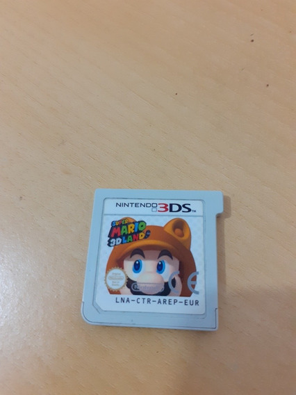 Jogo Super Mario 3d Land Nintendo 3ds Original