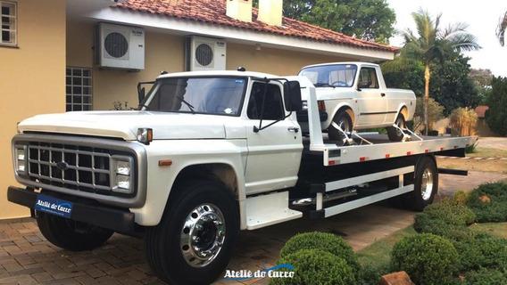 Caminhão F14000 89 Plataforma 2019 Guincho Uso Particular