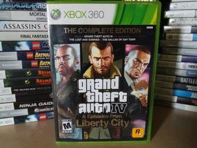 Jogo Gta 4 Liberty City Complete Edition Xbox 360 Original