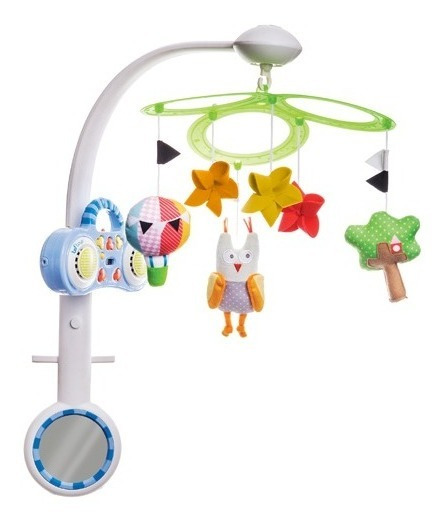 Movil Cunero Musical Cuna Bebe Mp3 Buho Taf Toys Babymovil