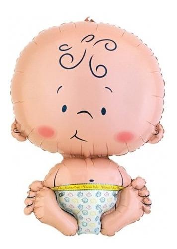 Globo Bebe Para Baby Shower !! 71 X 47 Cm