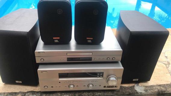 Home Theater Receiver Av Hifi Yamaha Rx-v750 Importados