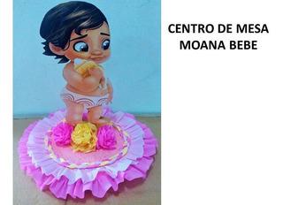 Centros De Mesa Moana Bebe Y Elena De Avalor