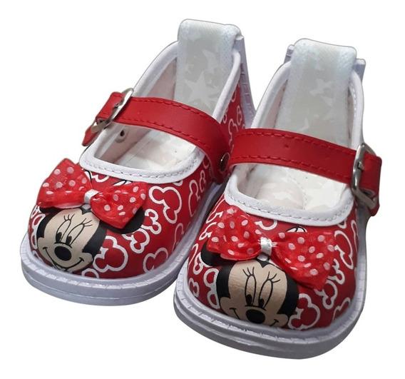 Zapato Para Niña No Tuerce Minnie