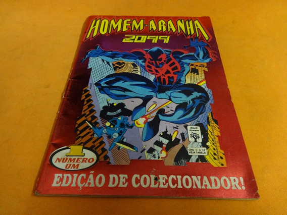 Homem Aranha 2099 N° 1 Edição De Colecionador Marvel Gibi Hq
