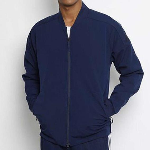 Jaqueta adidas Track Topoven - Azul Marinho -