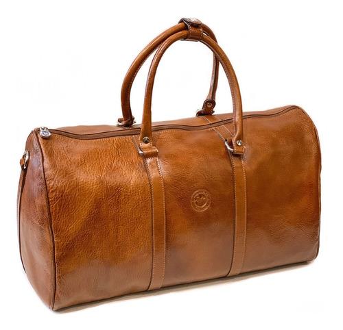 Bolso De Cuero Hombre Mujer Viaje Correa Ajustable Modelo 0942