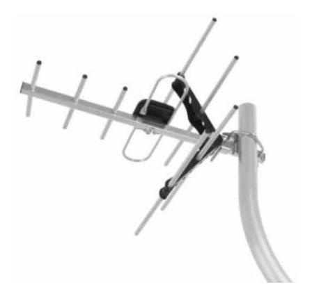 Antena Externa Digital Ae5010 Intelbras+cabo Qualidade Hd