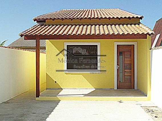 Casa Com Área Externa Com Lavabo, 1 Suíte Em Itaipuaçú.