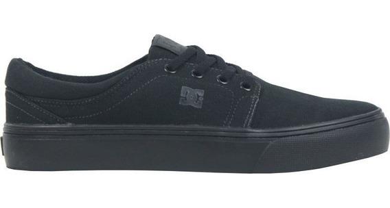 Tênis Dc Shoes Trase Tx All Black