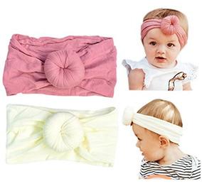 Diadema De Pan De Turbante Para Bebes Pequenos, Muy Suaves Y