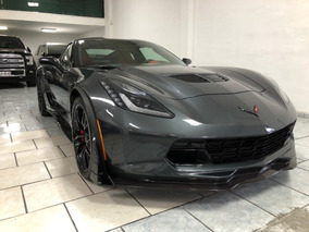 Chevrolet Corvette 6.2 Z06 At 2017 Gris 2 Toldos