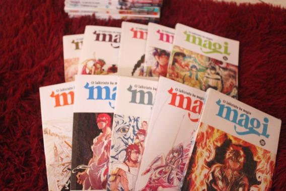 Coleção Mangá Magi - Volume 1 Ao 24