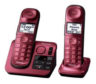 Teléfono Inalámbrico Panasonic Kx-tgl432r Monitoreo De Bebé Identificador