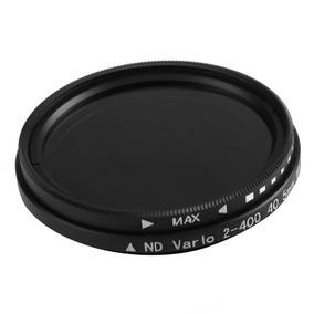 Filtro Nd Variável Nd2 A Nd400 82mm + Case Nikon Canon Sony
