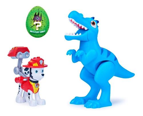 Imagen 1 de 2 de Paw Patrol - Marshall Y Dino Figuras