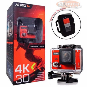 Camera De Ação Fullsport Cam 4k Atrio Dc185 Tela 2.0 Wifi