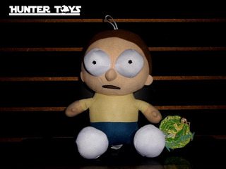 Rick And Morty, Morty, Peluche,12 Pulgadas, Tel.35846340